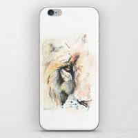 Lion of Judah iPhone & iPod Skin