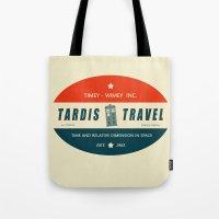 Tardis Travel - Fantasy Travel Logo Tote Bag