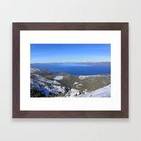 Backcountry Framed Art Print