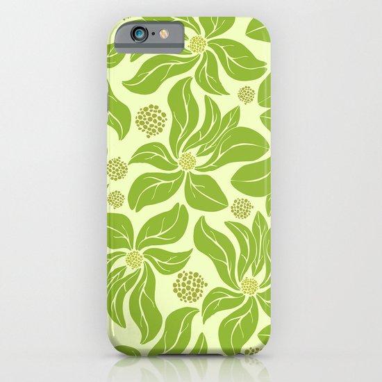 leafy pattern II iPhone & iPod Case