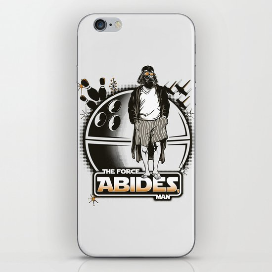 The Force Abides iPhone & iPod Skin