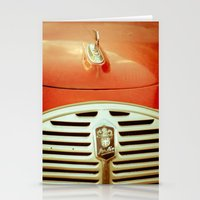 car Stationery Cards featuring Car by Sébastien BOUVIER