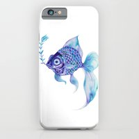 iPhone & iPod Case featuring Baby Blue #5 by Natsuki Otani