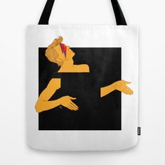 david bowie and the black square of gender Tote Bag