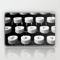 Vintage Typewriter 3 Laptop & iPad Skin