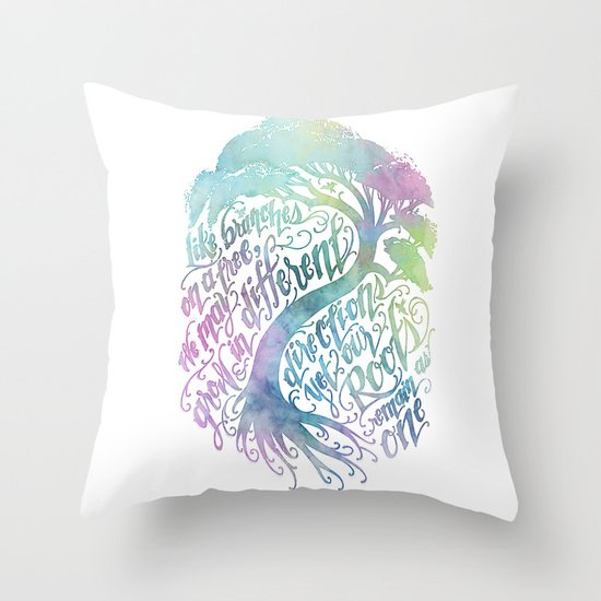 Our Roots Remain As One Throw Pillow