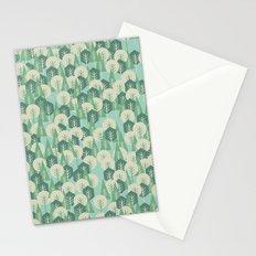 Geometric Woods Stationery Cards