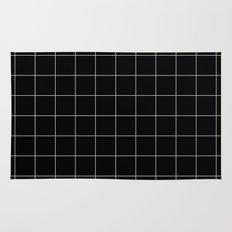 Black Grid /// www.pencilmeinstationery.com Rug