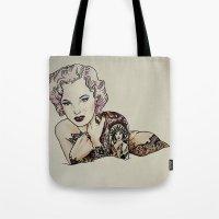 Sucide girl Monroe Tote Bag