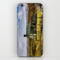 Derilict in the Yorks Dales iPhone & iPod Skin