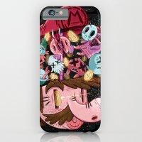 iPhone Cases featuring Super Mario by James Burlinson