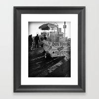 Dogtown Dogs Framed Art Print