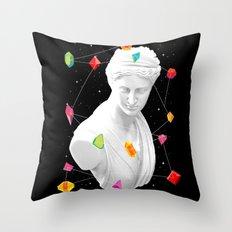 Geometric Gods II Throw Pillow
