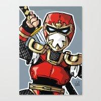 A Incredible Ninja Canvas Print