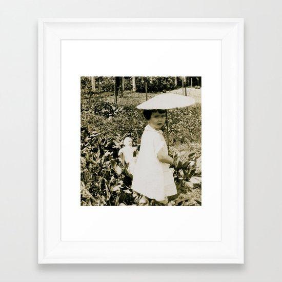 Mabel & Dolly Framed Art Print