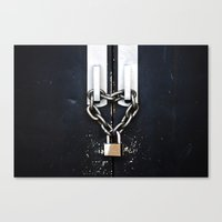 Locked by Love Canvas Print