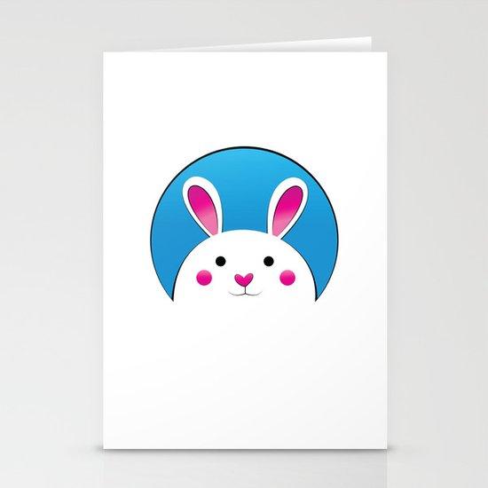 Chubby Bunny Stationery Card