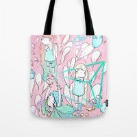 Awake in your dreams Tote Bag