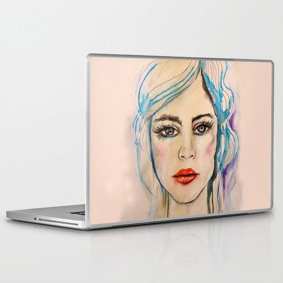 Girl Portrait Laptop & iPad Skin