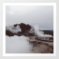 Excelsio Geyser Crater Art Print