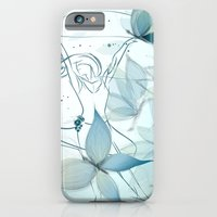 Le positive design dinamique du madame butterfly iPhone 6 Slim Case