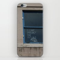 I Can't Predict The Future iPhone & iPod Skin