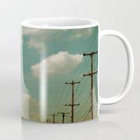 Electric Blue Mug