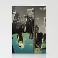 Canary Wharf - Poster, A… Stationery Cards
