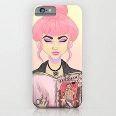 Girls read comics too, Sand iPhone 6s Slim Case