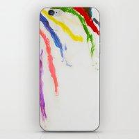 Rainbow of color iPhone & iPod Skin