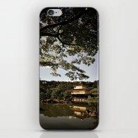 Kinkakuji/The Golden Pavilion, Kyoto iPhone & iPod Skin