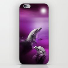 Delightful Dolphins iPhone & iPod Skin