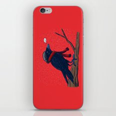 Annoyed IL Birds: The Crow iPhone & iPod Skin