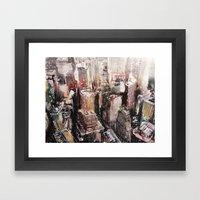 Roofs N°1 Framed Art Print