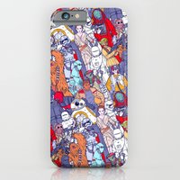 Space Toons in Color iPhone 6 Slim Case