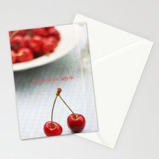 Don't Put Off Your Happy Life Stationery Cards