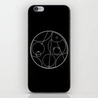 I love you - Galifreyan - reverse colours iPhone & iPod Skin