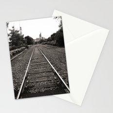 Railroad Tracks Stationery Cards