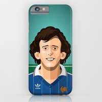iPhone & iPod Case featuring Platini 1982 by boobee