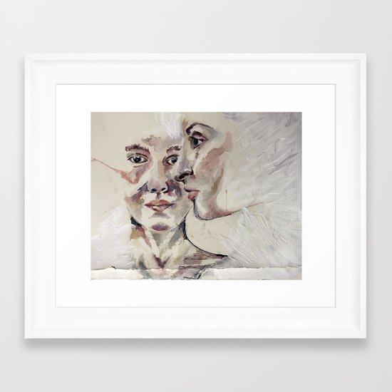 close-up Framed Art Print