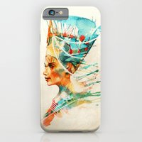 iPhone Cases featuring Nefertiti by Alice X. Zhang