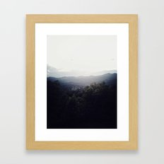 miles of view Framed Art Print