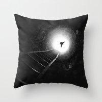 Light Redemption Throw Pillow