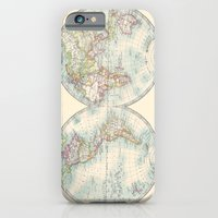 Hemispheres iPhone 6 Slim Case