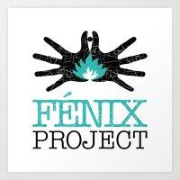 Fénix Project Art Print