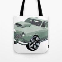 Studebaker in Green Tote Bag