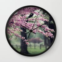 Blossoms For The Road Ah… Wall Clock