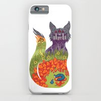 alice in wonderland iPhone & iPod Cases featuring Wonderland by Heather Searles