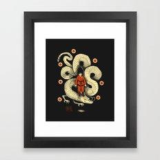 dbz Framed Art Print