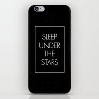 Sleep Under The Stars iPhone & iPod Skin